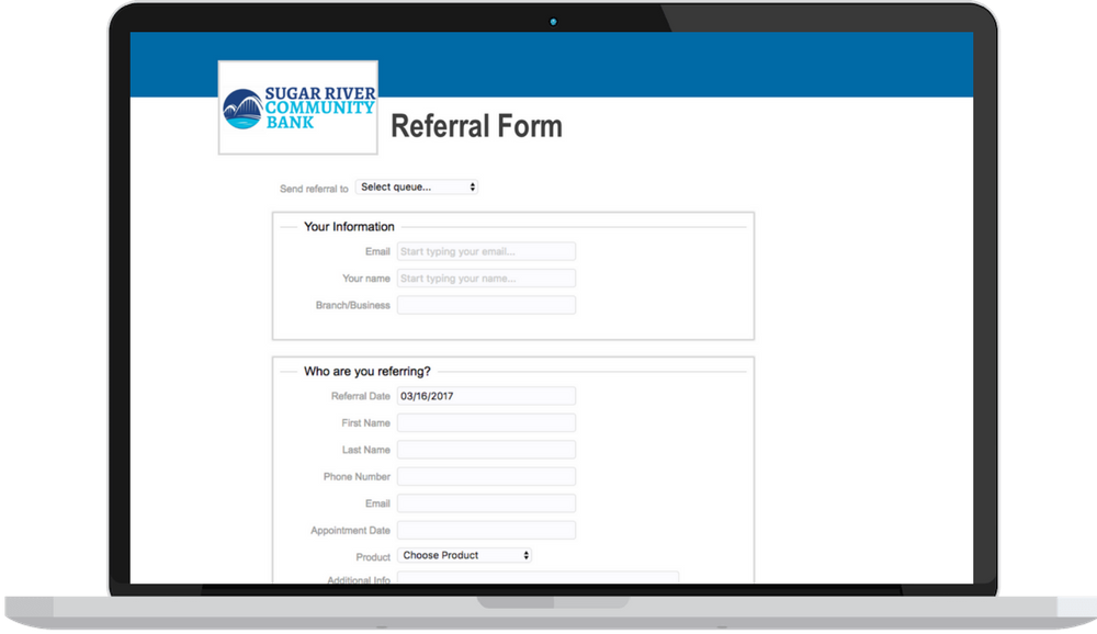 Custom Referral Software For Banks & Credit Unions